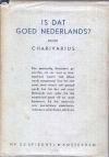 Boek: eerste druk: Is dit goed Nederlands